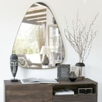 Gold Metal Mirror 80x101 Shelby