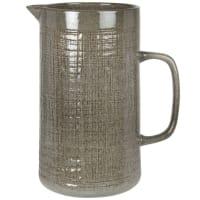 YELLOWSTONE - Green stoneware pitcher 1.3L