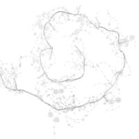 Guirlande lumineuse effet givre L200