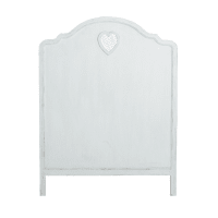 Headboard In White W90 Valentine