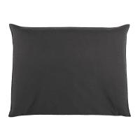 Hoes voor hoofdeinde bed 140 cm breed, antraciet Soft