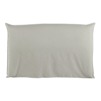 Hoes voor hoofdeinde bed 180 cm breed, ecru Soft