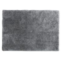 Hoogpolig vloerkleed, grijs, 160 x 230 cm, Polaire