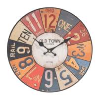 Horloge D 34 cm Usa