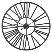 Horloge en métal effet rouillé D80 Jacob