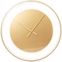LILIANA - Horloge en verre et métal doré D55
