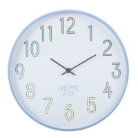 Horloge irisée et blanche D30 Bonnie