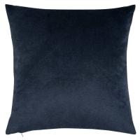 WOLFGANG - Housse de coussin en velours bleu marine 40x40