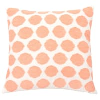 Housse de coussin motifs graphiques roses 40x40 Pitaya