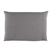 Housse de tête de lit 160 gris perle Soft