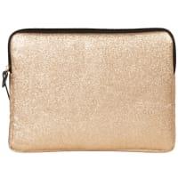 iPad-hoesje met goudkleurige glitters