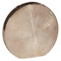 LUNAIRE COPPER - Jarrón de gres Alt. 21 cm