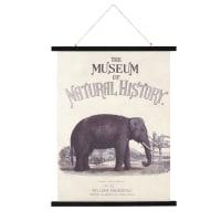 Kakemono imprimé éléphant 71x115 History