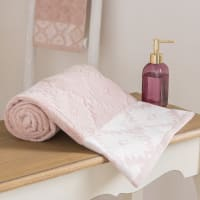 Katoenen badlaken met grafisch motief 100x150 Tulum