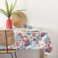 Katoenen tafellaken met bloemenprint 140x250 Parati