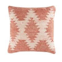 Kissen aus Wolle und Baumwolle mit Jacquardmuster 45x45