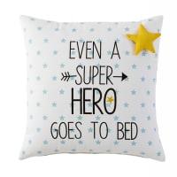 GRAPHIKIDS - Kissen mit Sternenmuster aus Baumwolle 40x40