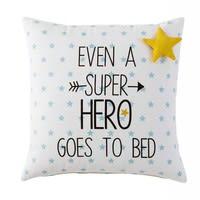 Kissen mit Sternenmuster aus Baumwolle 40x40 Graphikids