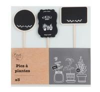 Kit 3 pics à plantes