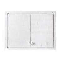 Küchenoberschrank mit 2 Türen, weiß Embrun
