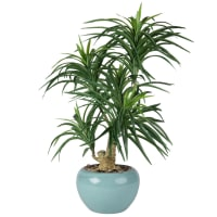 Künstliche Yukka-Palme im Keramiktopf