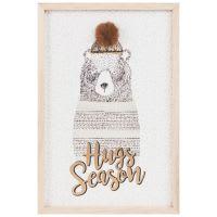 Kunstdruck Bärenmotiv 27x40 Bear Hugs