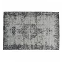 Kurzhaarteppich, grau, 140x200 Villandry