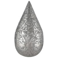 Lampada orientale in metallo H 48 cm Medina