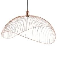 PHAONA - Lámpara de techo de alambre cobrizo