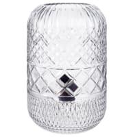 Lampe aus geformtem Glas Pasquali