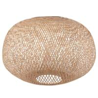 MILEY - Lampenschirm für Hängelampe aus Rattangeflecht D60