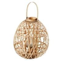 Lanterne en bambou tressé H64 Bandug