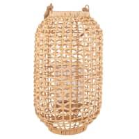 Lanterne en fibre végétale tressée Comoedia