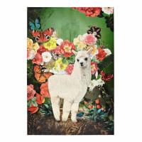 Leinwandbild mit Lama, 90x130 Santa Rosa
