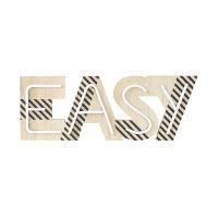 Leuchtender Wanddeko-Schriftzug Easy L55 Atelier Hype