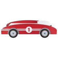 Lit voiture enfant 90x190 rouge Circuit