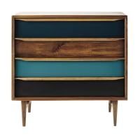Mango wood vintage chest of drawers Janeiro