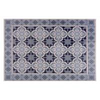 Mantel individual de vinilo con motivos de azulejos de cemento 30x45 Vila