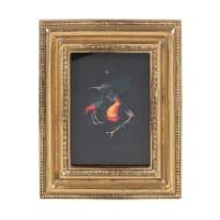 DIANA - Marco de fotos de polirresina dorada con molduras 7x9 cm