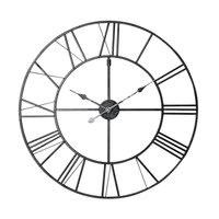 Metal Clock in Black D80 Factory