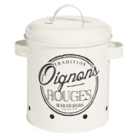 TRADI - metal onion container