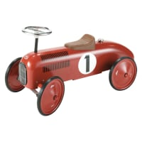 Metal Push Car in Red Vilac
