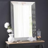 Miroir biseauté 80x120 Cristallin