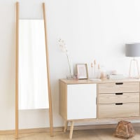 Miroir en bois H 180 cm Eriksen