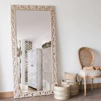 Miroir en manguier sculpté 90x180 Lombok