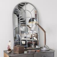 Miroir en métal 110x65 Arcade