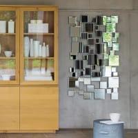 Miroir en métal 140x85 Collision