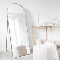 LISA - Miroir en métal doré 60x150
