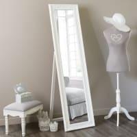 Miroir psyché blanc 164x44 Enzo