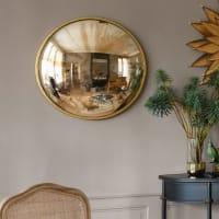 Miroir rond convexe effet vieilli D71 Santa Fe